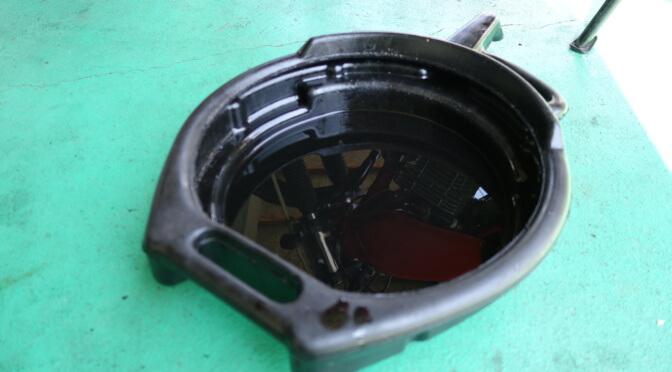 XL250のオイル交換とタイヤ交換