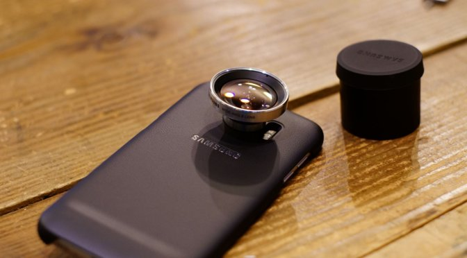 Galaxy S7 edge の純正後付けレンズを買う