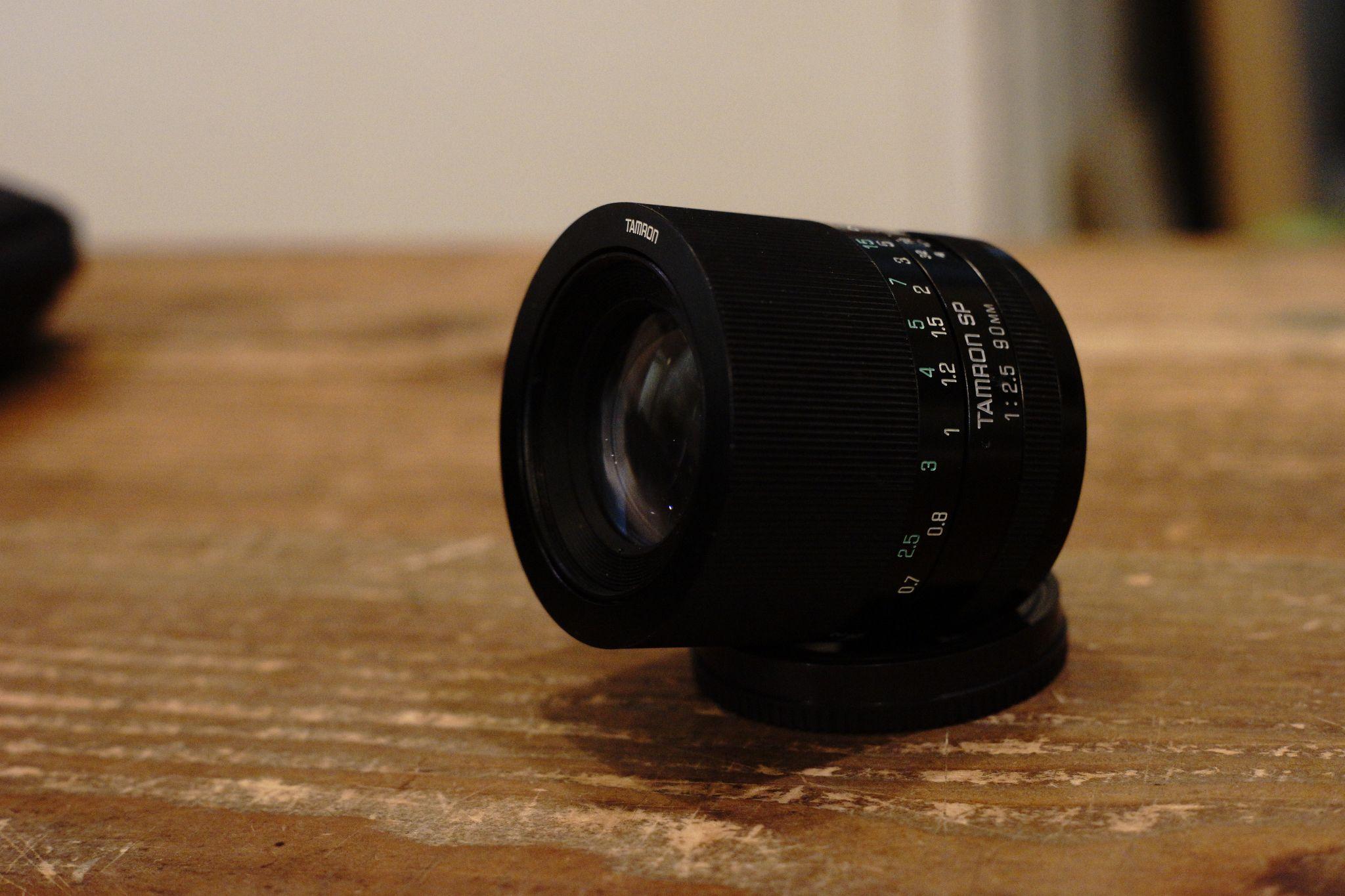 Tamron SP90mm F2.5 [Model 52B]
