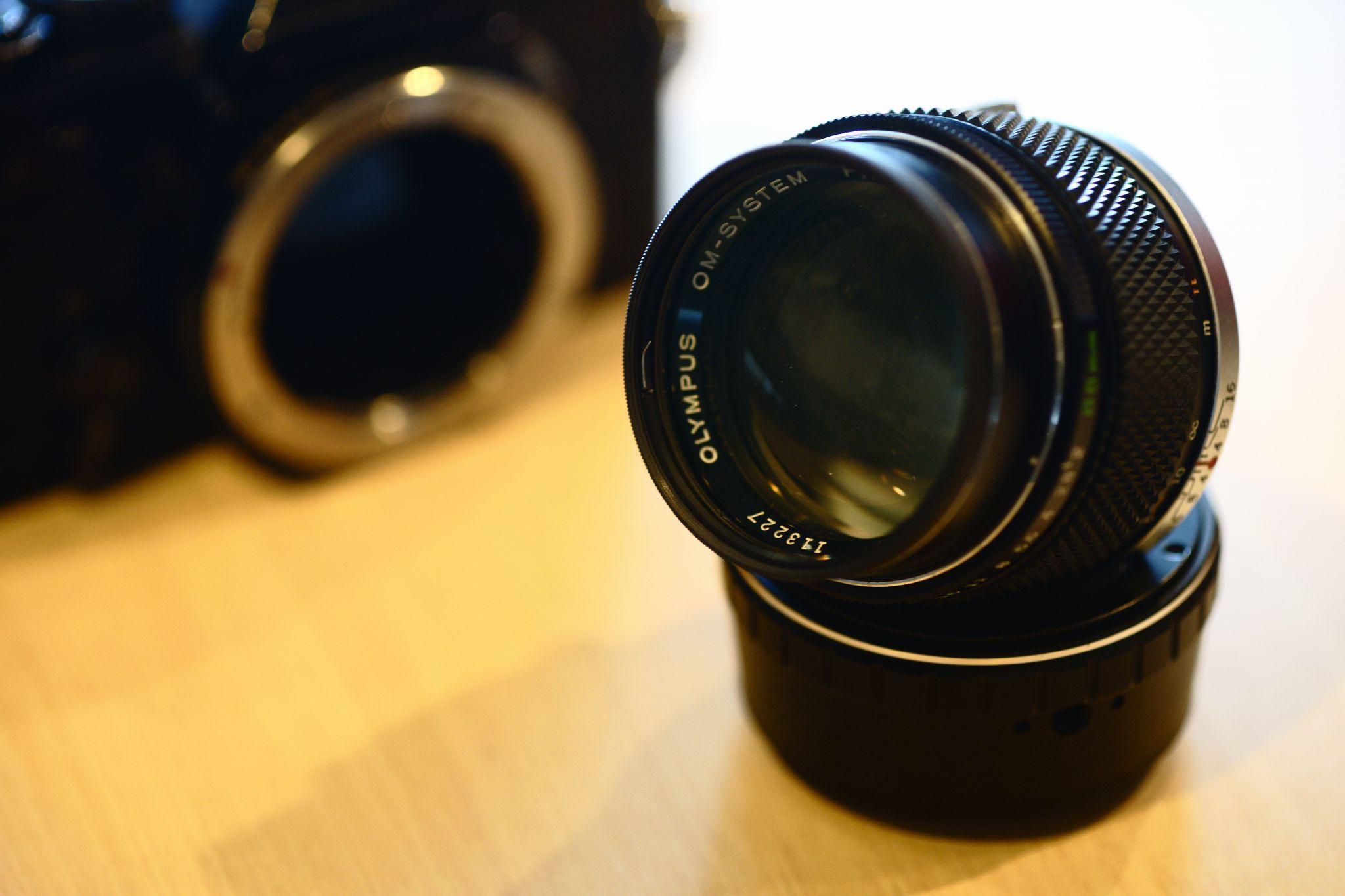 Zuiko 85mm F2