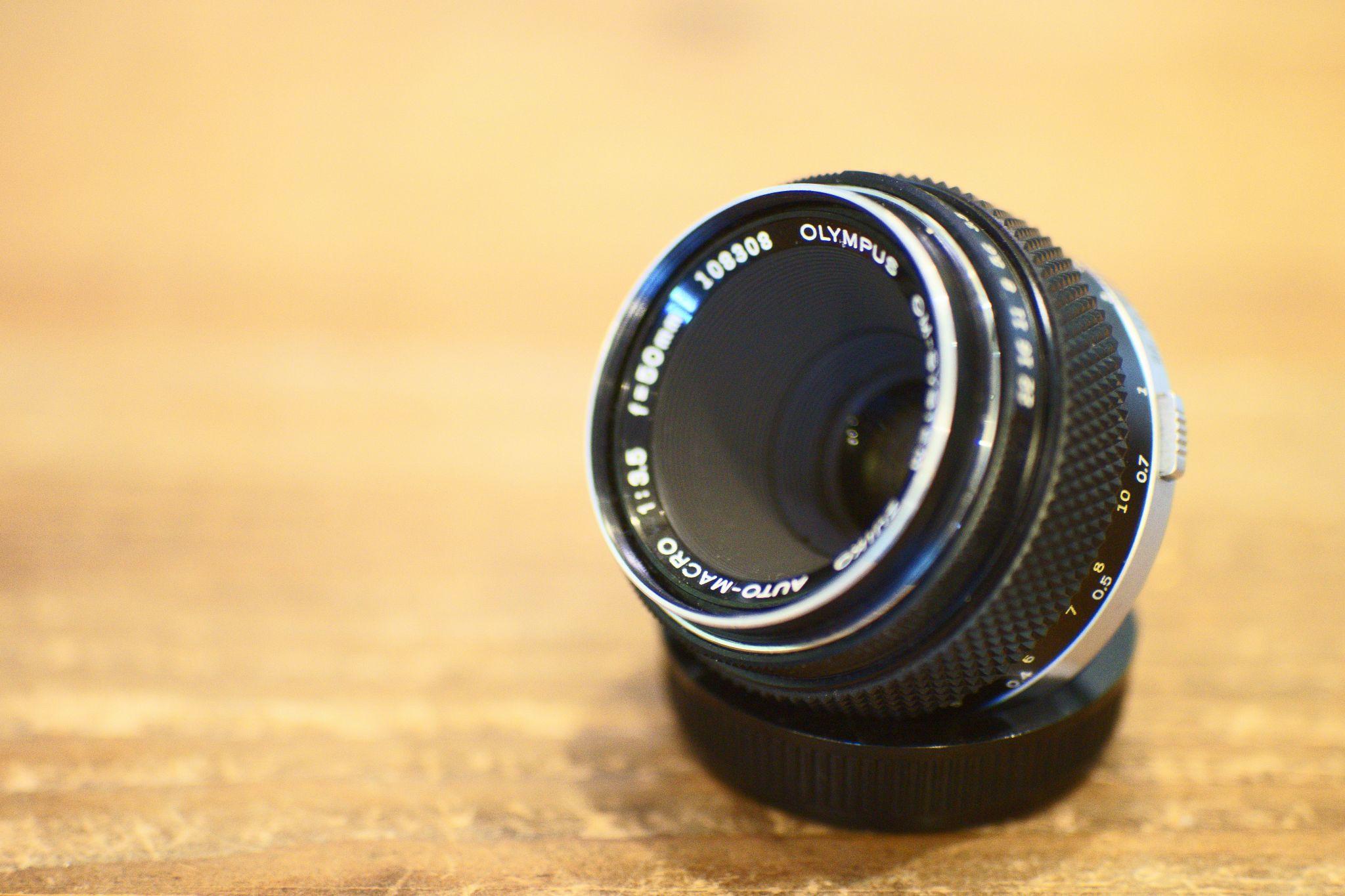 Zuiko 50mm F3.5 Macro