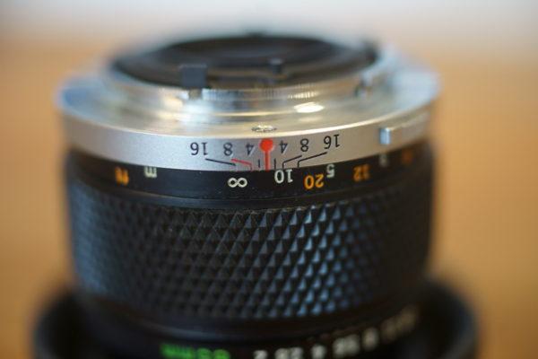 50mm F2 開放