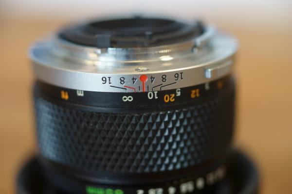 50mm F2 絞りf2.8