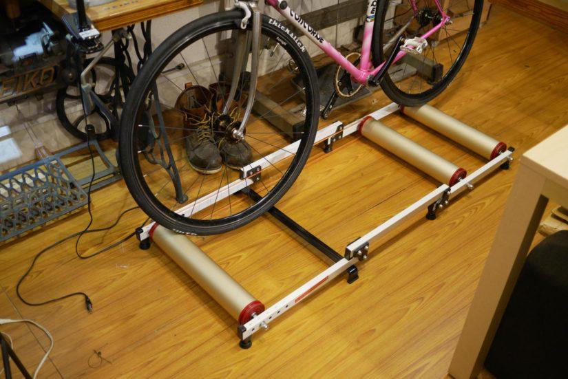 3本ローラー iimono117 サイクルトレーナー