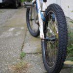 BMXのタイヤ交換