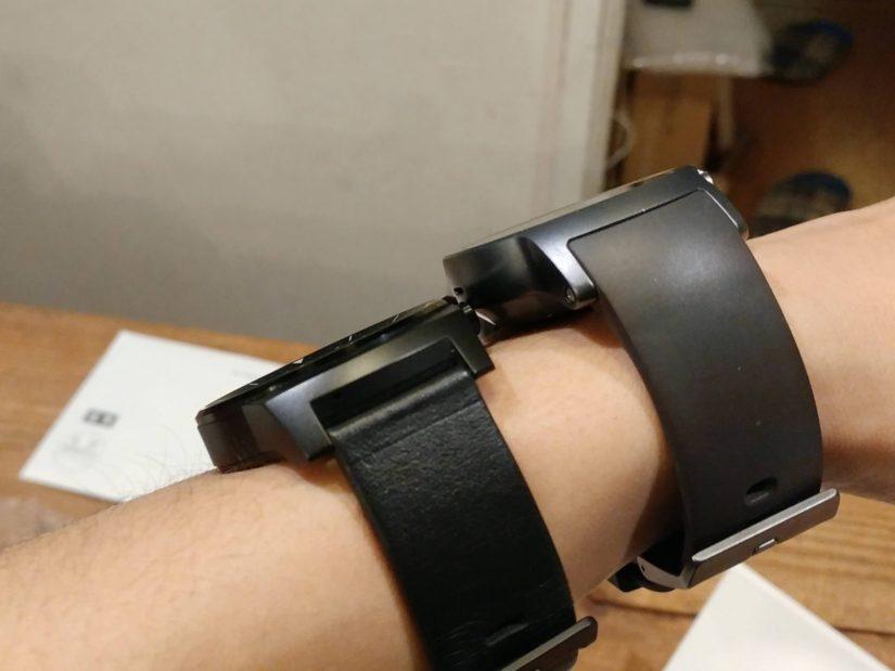 LG Watch SportとLG G Watch R